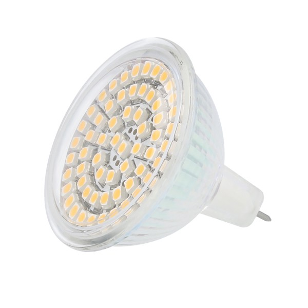 GU5.3 (MR16) LED Spot 12 Volt 3,5 Watt 60 SMD dimmbar (entspricht 35-40W)