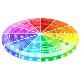 RGB LED Strip 12V, 5 Meter, 300 SMD 5050 LED's