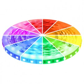 RGB LED Strip 24V, 5 Meter, 300 SMD 5050 LEDs